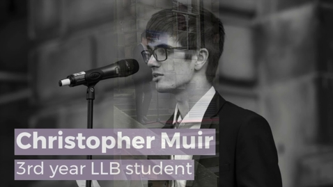 Thumbnail for entry Edinburgh Law School official reopening ceremony, 13 Sept 2019