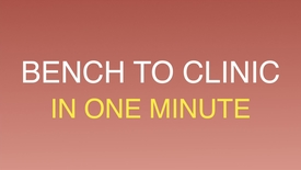 Thumbnail for entry Bench to clinic 'one-minute'
