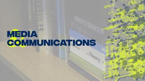 Thumbnail for entry Media & Communications Research Spotlight - Dr Ita Jansen