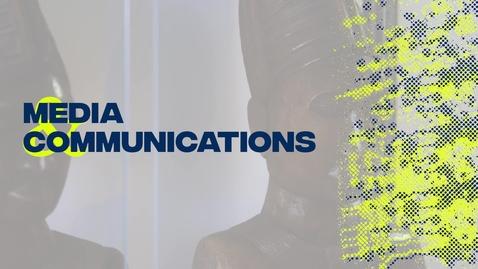 Thumbnail for entry Media & Communications Research Spotlight - Dr George Karekwaivanane
