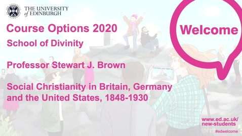Thumbnail for entry Divinity - Social Christianity in Britain, Germany and the United States, 1848-1930