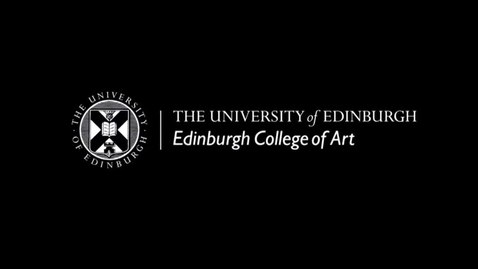 Thumbnail for entry Welcome to Edinburgh College of Art 2021