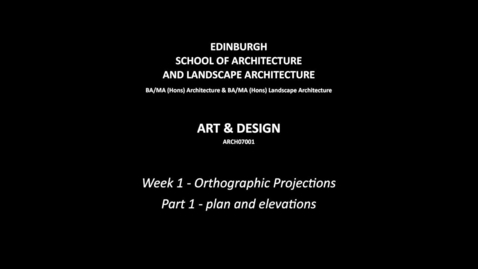 Thumbnail for entry w1--orthographic_projections--part_1