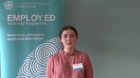 Thumbnail for entry Employ.ed on Campus Case Study - Hayley Whittingham
