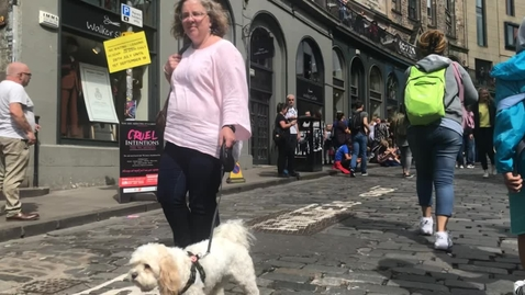 Thumbnail for entry Dog Walking, West Bow, Victoria Street