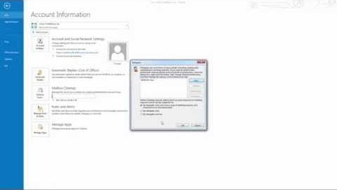 Thumbnail for entry MS Outlook 2013 Tutorial: Delegating your calendar