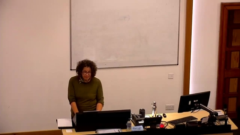 Thumbnail for entry Professor Jennifer Morgan: 'Reckoning with slavery: kinship and capitalism in the early Black Atlantic'