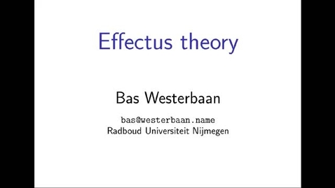 Thumbnail for entry Combining Viewpoints in Quantum Theory, Westerbaan