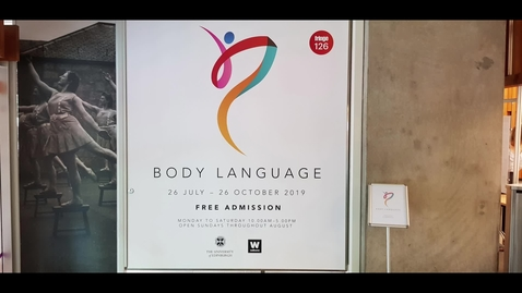Thumbnail for entry Preview Opening for Body Language Exhibition