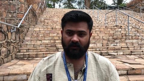 Thumbnail for entry MSc One Health: Sanath Muliya Keshava,  student testimonial
