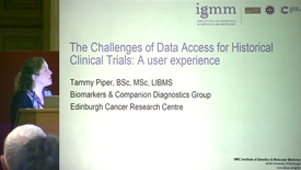 Thumbnail for entry 6 - The Challenges of Data Access for Historical Clinical Trials: A User Experience