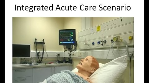Thumbnail for entry Acute Care  Scenario - Examiner