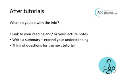 Thumbnail for entry PGT Only How To develop your study skills