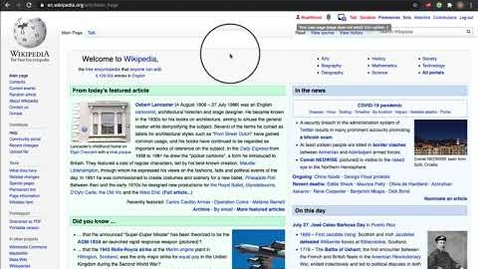 Thumbnail for entry How to enable the visual editor on Wikipedia.