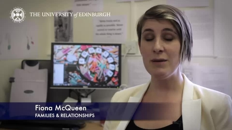 Thumbnail for entry Fiona Mcqueen - Families & Relationship - Research In A Nutshell - School of Social and Political Science-15/04/2014