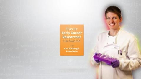 Thumbnail for entry Elsevier Scopus Awards 2018: profile of awardee Dr Sarah McGlasson