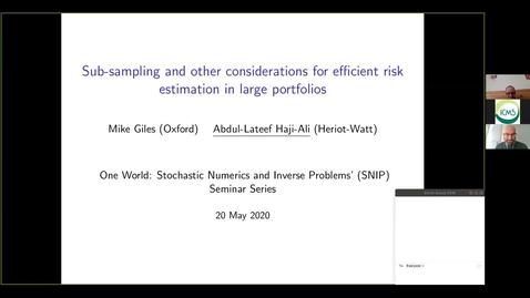 Thumbnail for entry One World SNIPS - Abdul Lateef Haji-Ali