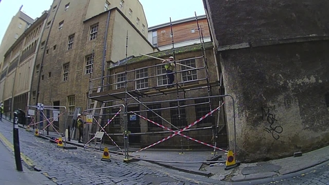Thumbnail for entry St Cecilia's Hall Redevelopment Caretakers Flat Demolished