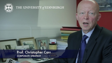 Thumbnail for entry Chris Carr -Corporate Strategy -Research In A Nutshell-Business School-02/07/2012