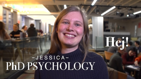 Thumbnail for entry University of Edinburgh: Meet our postgraduate students - Jessica