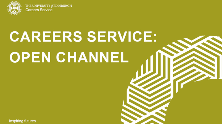Thumbnail for channel Careers Service: Open Channel
