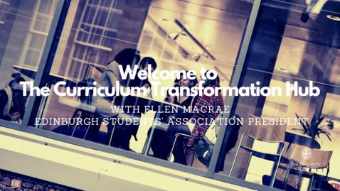 Thumbnail for entry Ellen MacRae (Students' Association President) on Curriculum Transformation