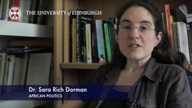 Thumbnail for entry Sara Dorman -African Politics-Research In A Nutshell- School of Social and Political Science-25/07/2012