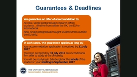 Thumbnail for entry Accommodation options for postgraduates - 30 August 2017