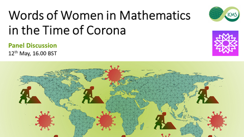 Thumbnail for entry Words of Women in Mathematics in the Time of Corona
