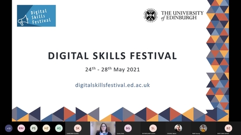 Thumbnail for entry Digital Skills Festival: Managing your references with EndNote