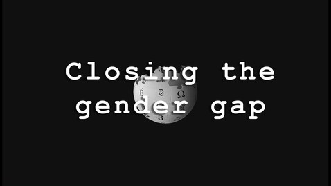 Thumbnail for entry Closing the Gender Gap | Wikimedia UK