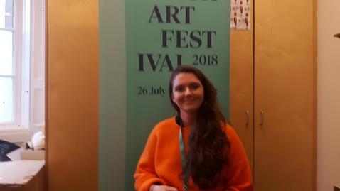 Thumbnail for entry Employ.ed in SME Case Study - Edinburgh Art Festival