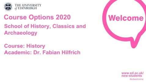 Thumbnail for entry History course options 2020