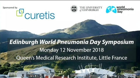 Thumbnail for entry Session 1 - World Pneumonia Day - 12th November 2018
