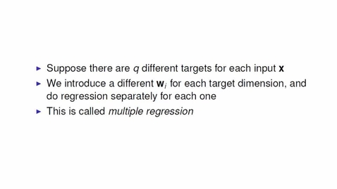 Thumbnail for entry Multiple Regression