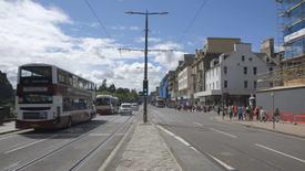 Thumbnail for entry Traffic on Princes Street, Edinburgh
