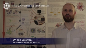 Thumbnail for entry Ian Overton -Integrative Network Biology-Research In A Nutshell- MRC Institute of Genetic and Molecular Medicine-28/01/2012