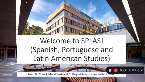 Thumbnail for entry LLC - Spanish, Portuguese and Catalan Courses for 1st and 2nd year students