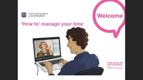 Thumbnail for entry (UG and PGT) How-to manage your time