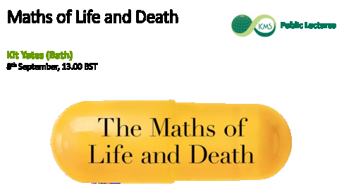 Thumbnail for entry The Maths of Life and Death, Kit Yates