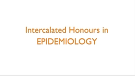 Thumbnail for entry Intercalated Honours in Epidemiology