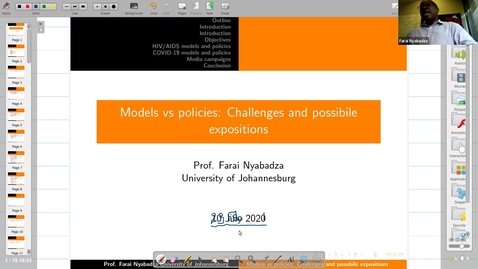 Thumbnail for entry UK-APASI in Mathematical Sciences:  Farai Nyabadza (Lecture 7)