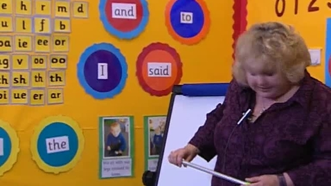 Thumbnail for entry Phase 3, Video 5 - Practicing And Teaching Tricky Words