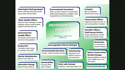 Thumbnail for entry How to find jobs in the environmental sector V2