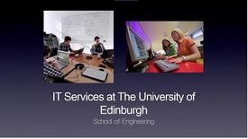 Thumbnail for entry School of Engineering IT Induction New Students