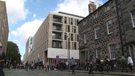 Thumbnail for entry Life in Edinburgh - Time Lapse - Forum George Square