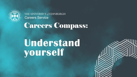 Thumbnail for entry Careers Compass: Understand yourself
