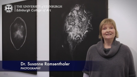 Thumbnail for entry Susanne Ramsenthaler - Photography- Research In A Nutshell-Edinburgh College of Art-28/04/2013