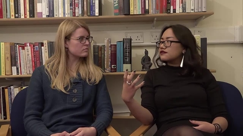 Thumbnail for entry Wikipedia in the Classroom - Interview with World Christianity MSc students Lucy Schouten and Nuam Hatzaw
