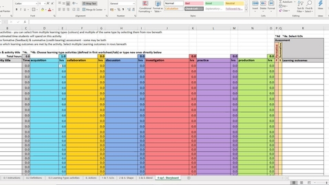 Thumbnail for entry ABC for LD Toolkit - Excel sheet step 4
